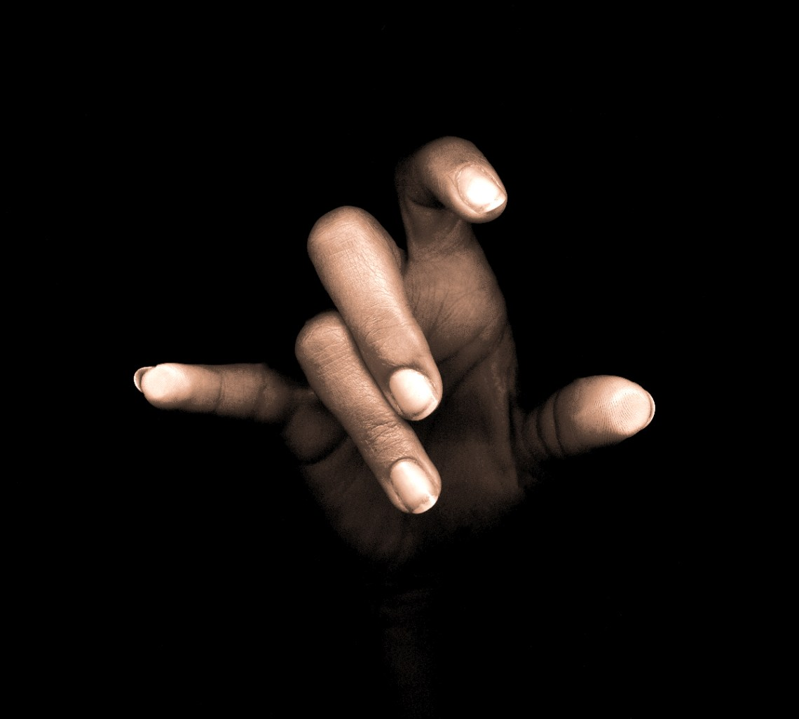 Photography by Gary Crossey - Hand Study