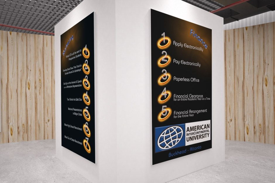 Tradeshow Poster Designs