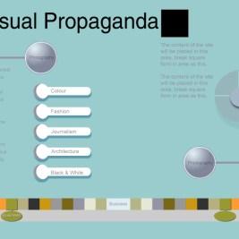 WEBSITE DESIGN: Visual Propaganda