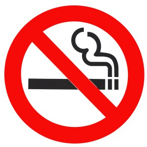 no smoking willpower
