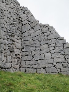 Solid stone walls