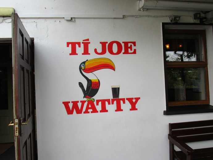 Jow Watty's Pub for music and good eats