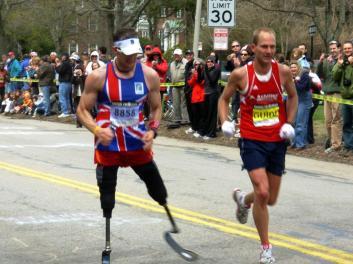 richard_whitehead_boston_marathon_2009