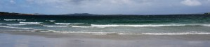 A beach in Clifden