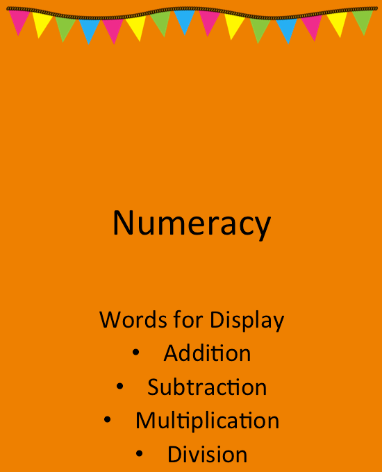 Words for Display