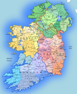 Map Of Ireland By County.Ireland Irish Primary Teacher