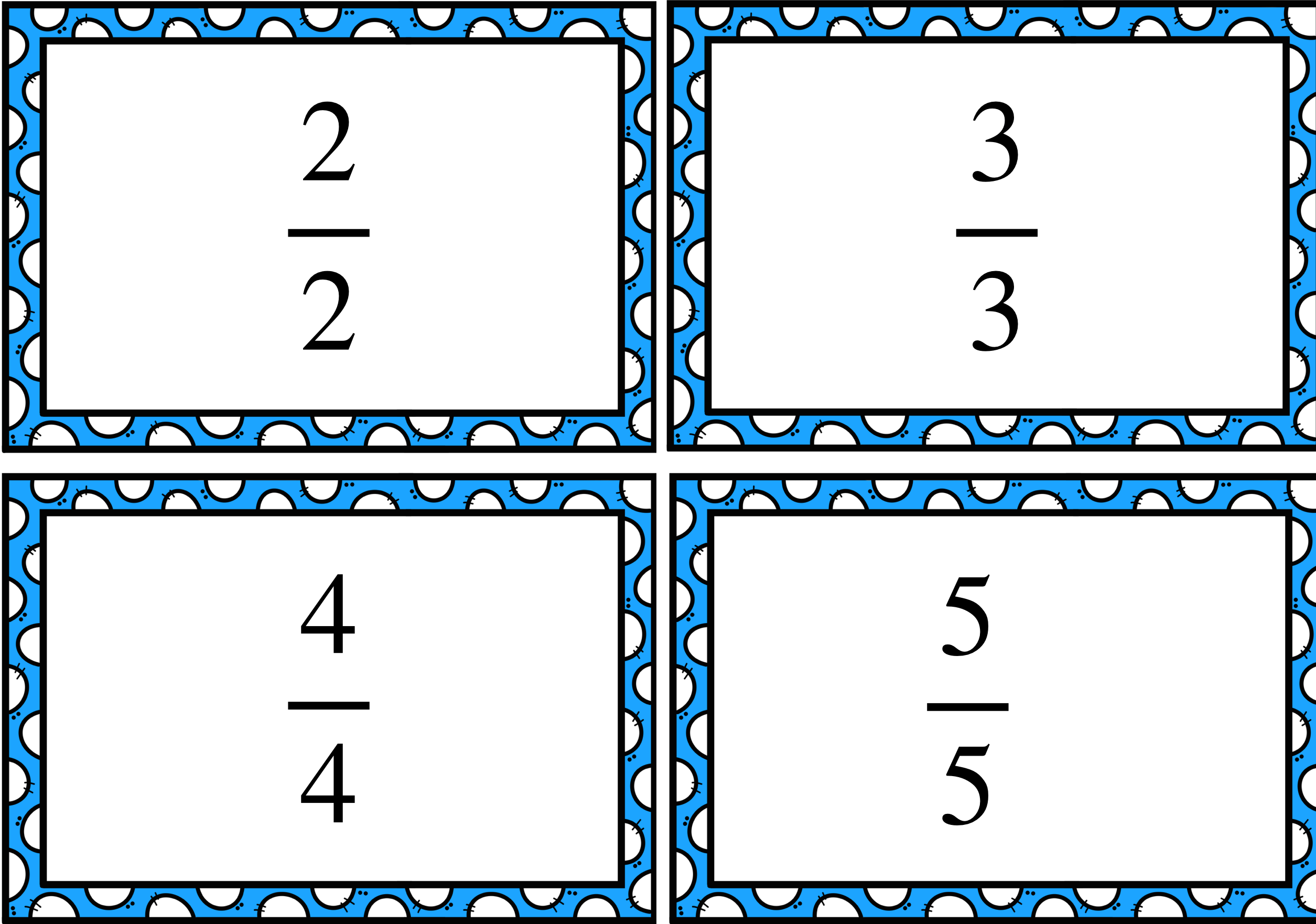 Mixed numbers and improper fractions matching game