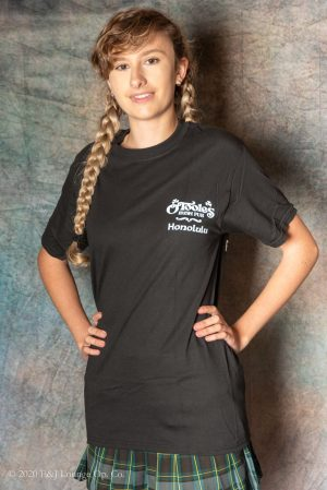 OT Black Front (nightshirt)