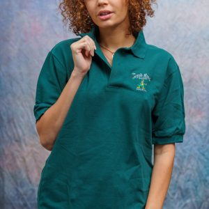 Green Emb. IRS Polo