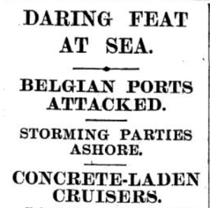 Zeebrugge News headline