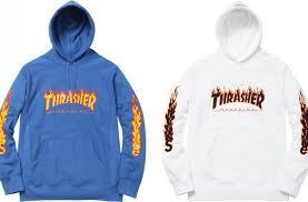 Supreme x Thrasher