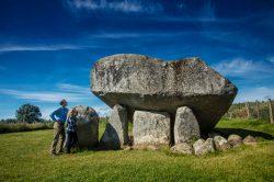 An Ancient Irish Dolmen