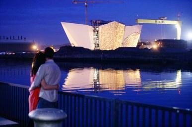 Titanic Belfast. Harland & Wolff Shipyards.