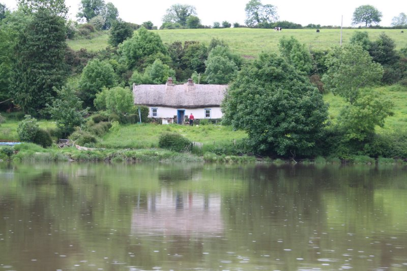 A cottage upstream of Cooneen Quay
