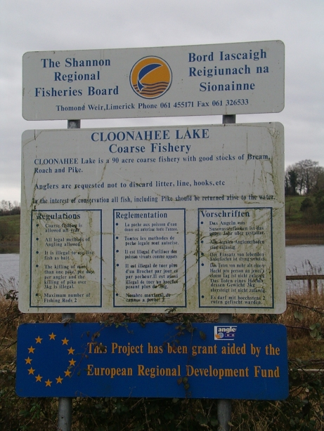 Fisheries Board sign (photo courtesy of Colin Becker)