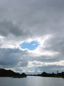 Sometimes it's the shapes of the clouds that appeal ...