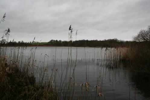 The canal joins Lough Nahincha