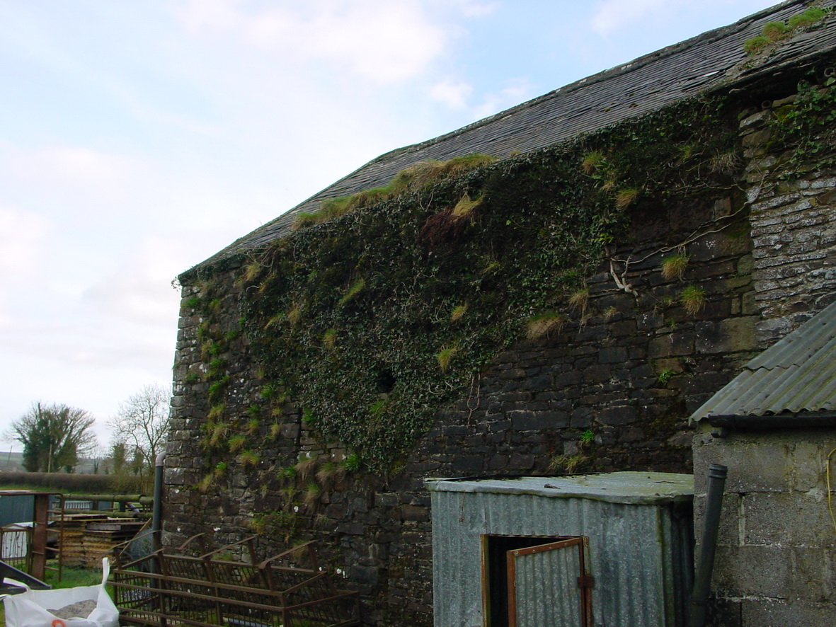 Here is the rear of the building (photo taken with the kind permission of the current owner)