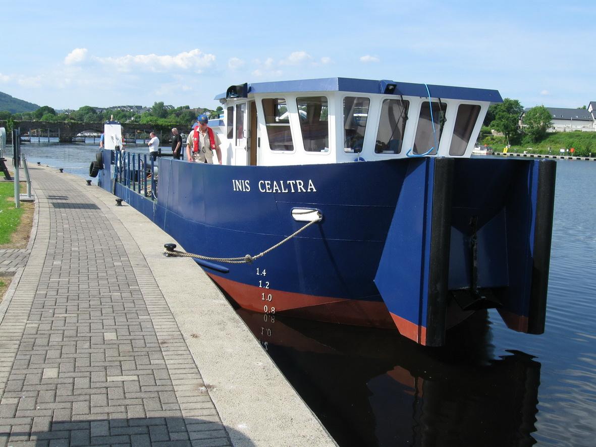 Inis Cealtra at Killaloe (Waterways Ireland 2009)