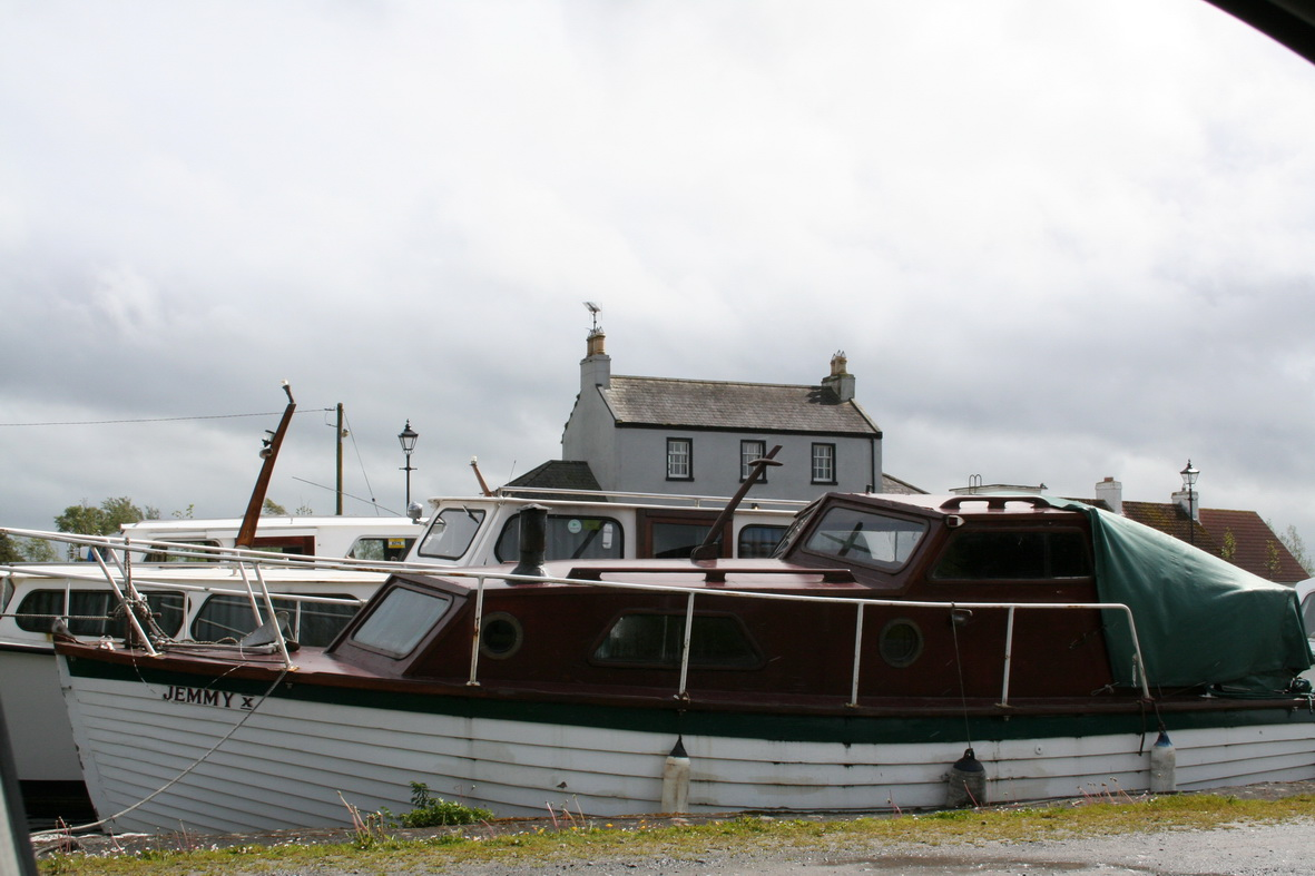 Jemmy X at Shannon Harbour