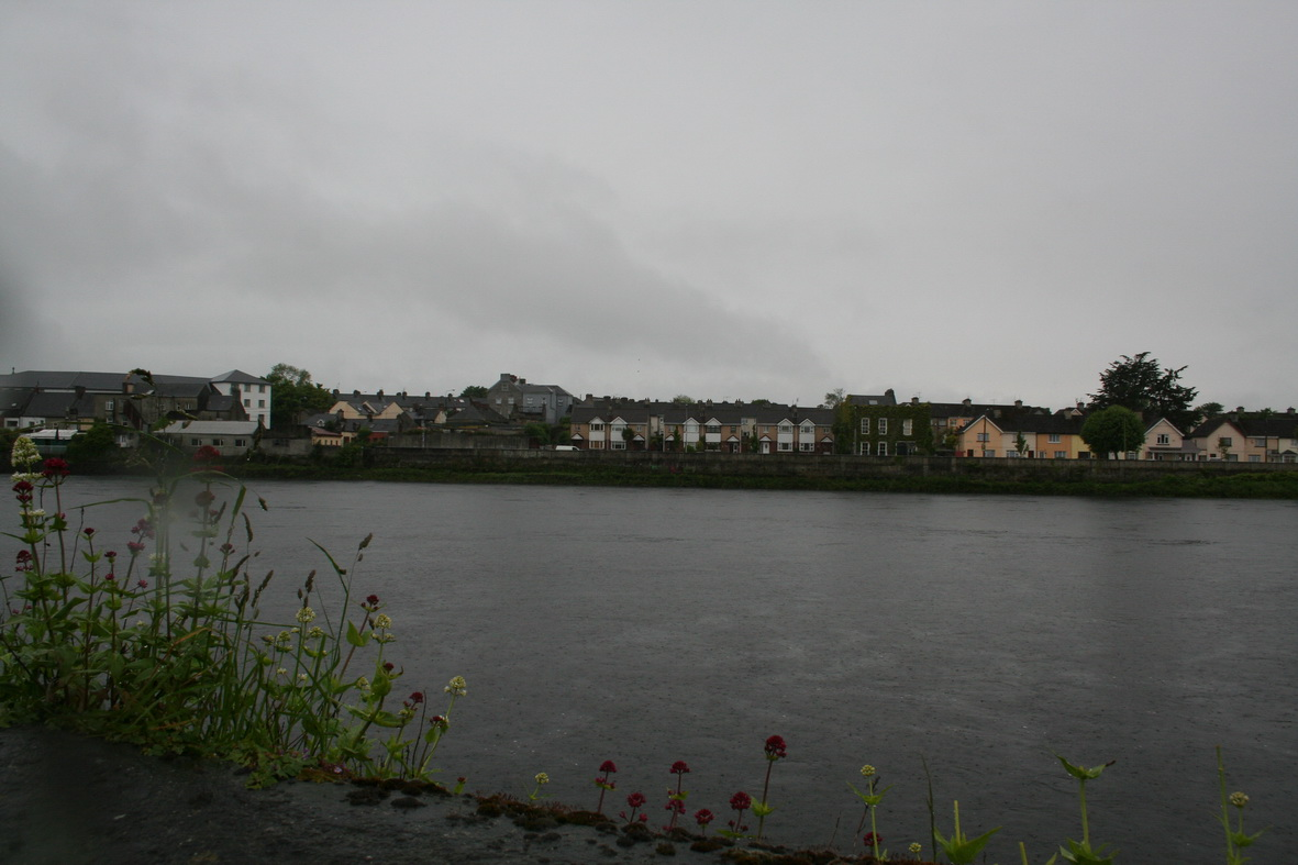 Brown's Quay at Thomondgate from across the river