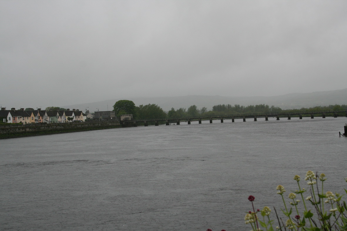 Brown's Quay and Thomond Weir. The distillery was just where they meet