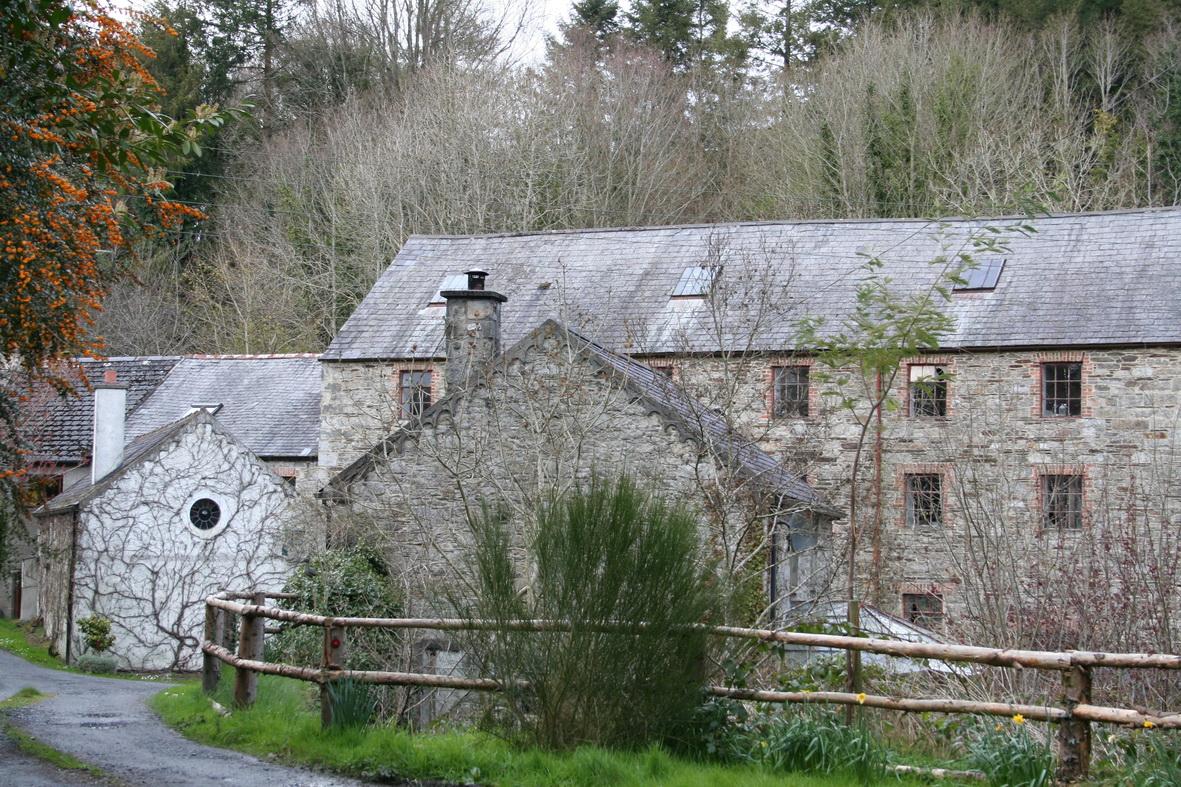 The woollen mill at Pollmounty below St Mullins