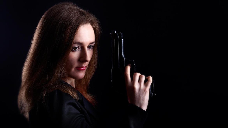 Me holding a gun