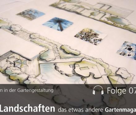 Zeichnen in der Gartengestaltung