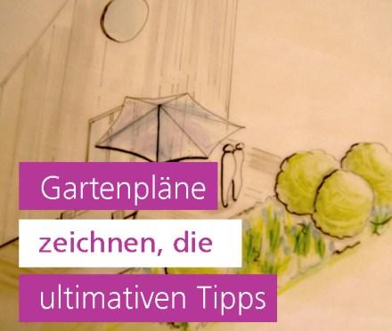 Gartenpläne zeichnen