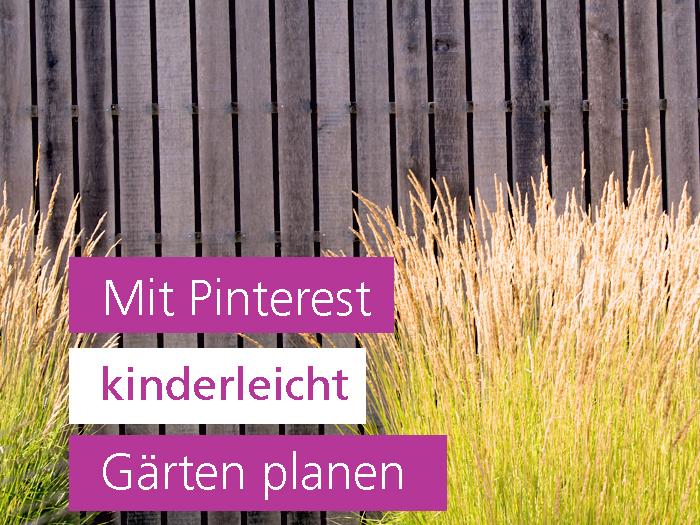 Mit Pinterest Garten planen