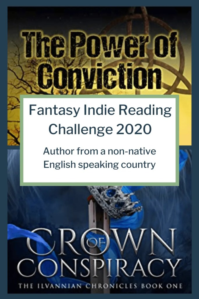 Fantasy Indie Reading Challenge 2020: Author from a non-native English speaking country
