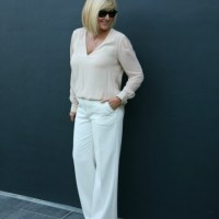 What I Wore: Wide Leg Trousers