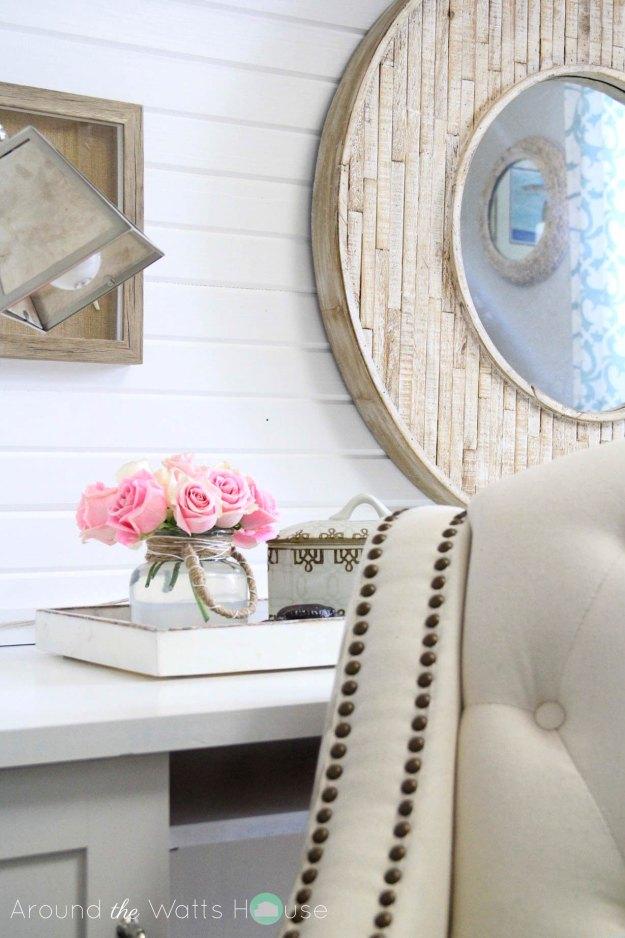 Coastal Decor-Home Office-One Room Challenge