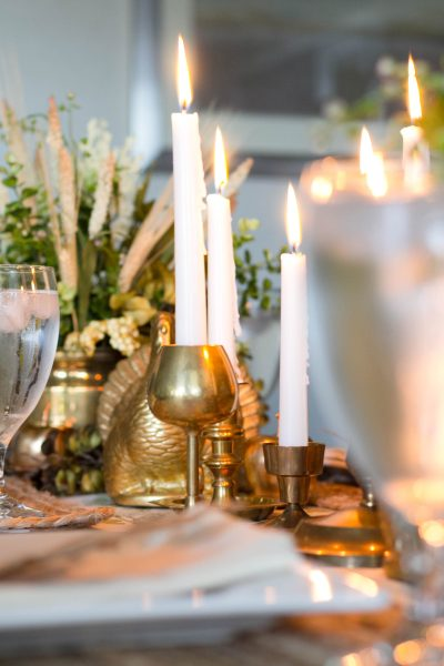 An Elegant Fall Tablescape