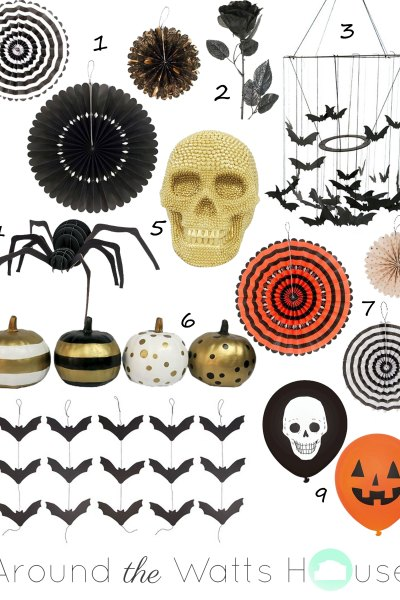 Wednesday Wish List-Halloween Decor
