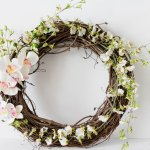 Spring-Valentine's Day Wreath-IrisNacole.com