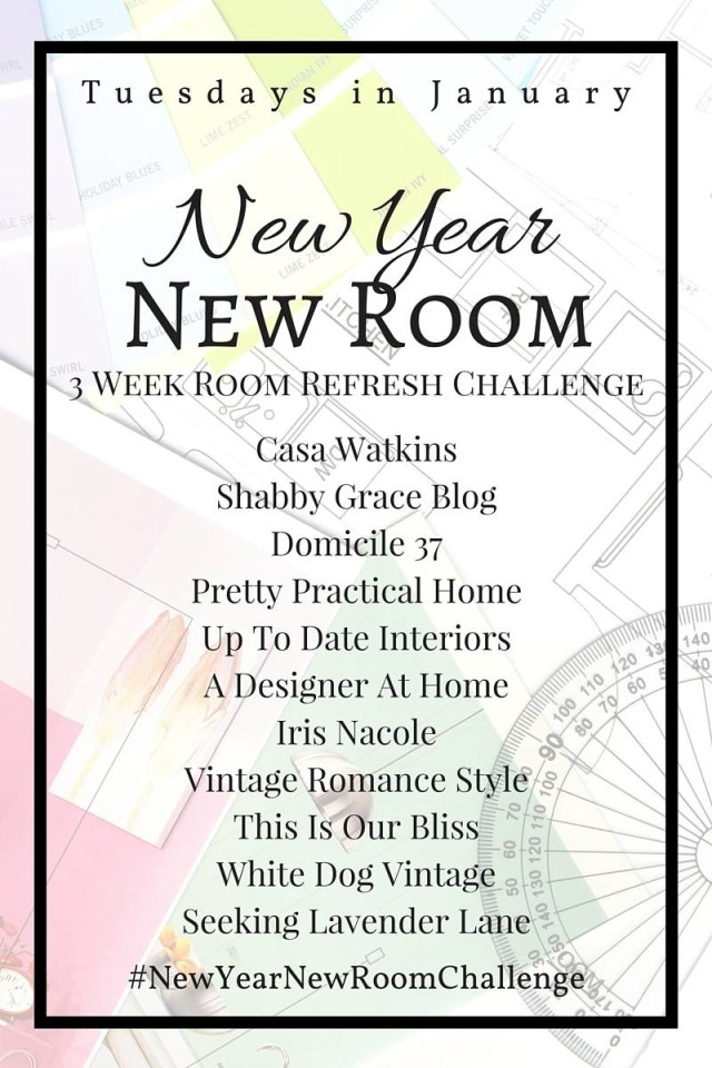 New Year, New Room Challenge IrisNacole.com