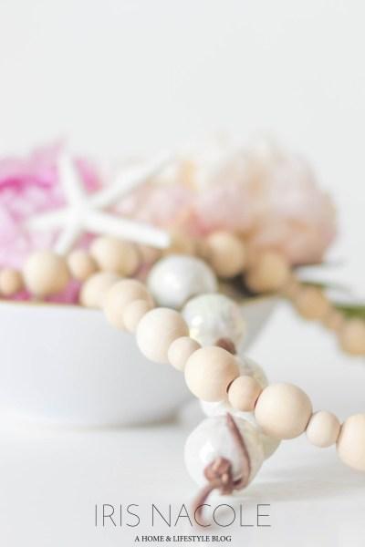 String of Beads DIY IrisNacole.com