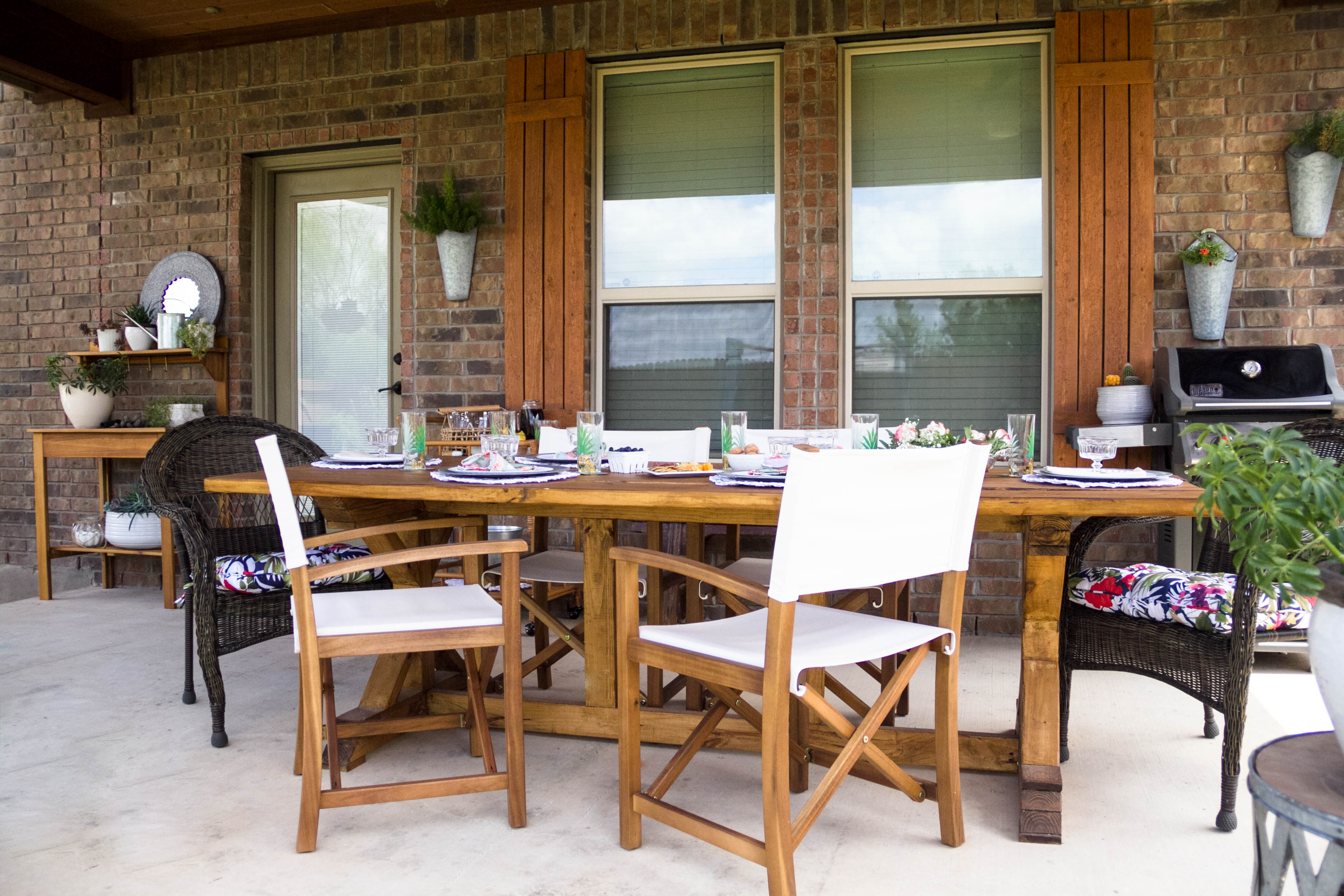 Outdoor Dining, DIY Table