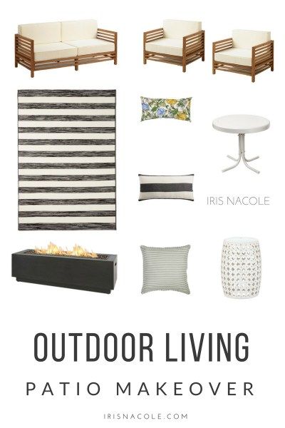 Outdoor Living-Patio Makeover-IrisNacole.com