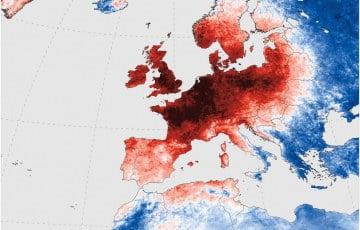 Rekordowe upały w Europie dzisiejszego dnia