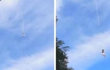 Polska: Okropny wypadek na bungee [WIDEO]