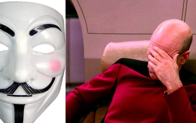 Garda poszukuje... maski