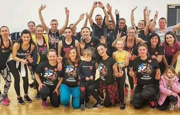Zumba for The Great Orchestra of Christmas Charity