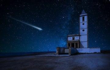 Dziś w nocy pierwszy w 2020r. deszcz meteorytów nad Irlandią!
