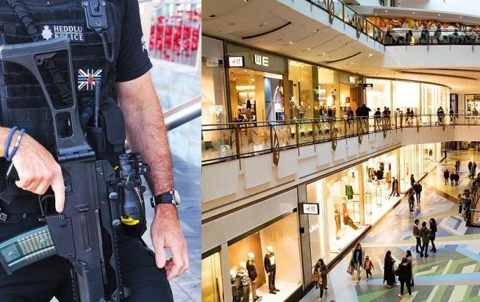 Uzbrojona Garda w centrum handlowym Kildare. Groźba masowej strzelaniny!