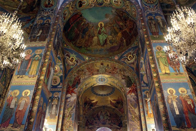 The Church of the Savior on the Spilled Blood: interiors | 7 Places to See on Your First Time in St. Petersburg