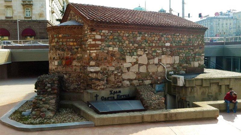 1 Day in Sofia Walking Itinerary | Sveta Petka Church
