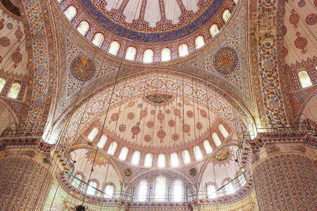 What to See in Sultanahmet Square, Istanbul   The Blue Mosque: Interior